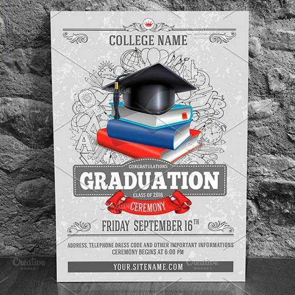 Graduation Ceremony Invitation Design