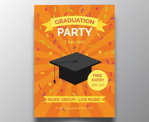 Graduation Party Free Invitation