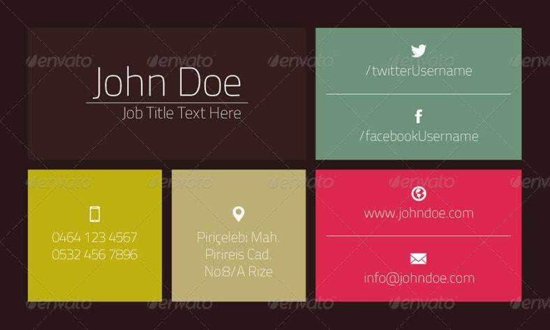 grid multicolored business card 788x473