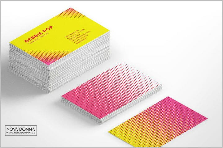 halftone-watercolor-business-card-template