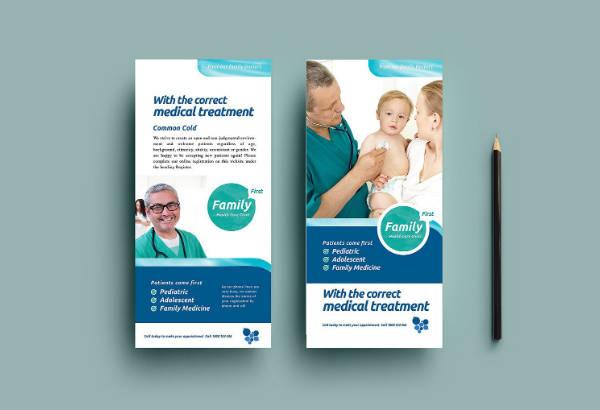 Healthcare Rack Card Template