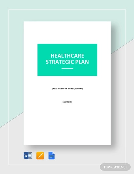 healthcare strategic plan template