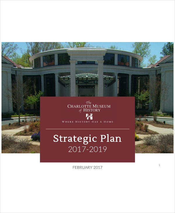 History Museum Strategic Plan Sample