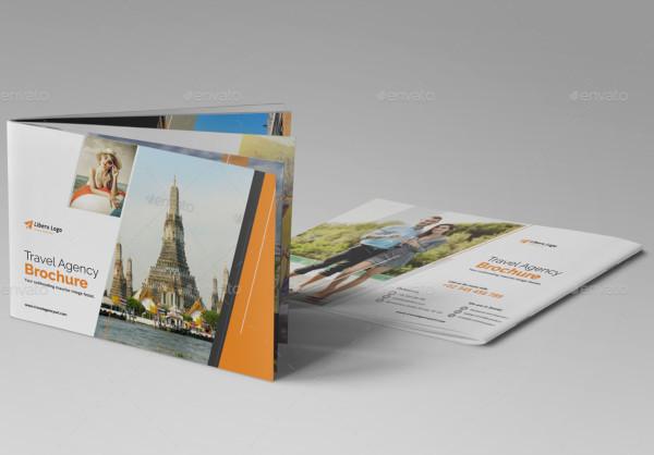 holiday travel brochure design
