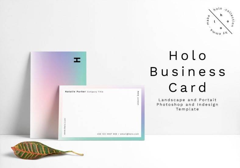 holo-business-card-design