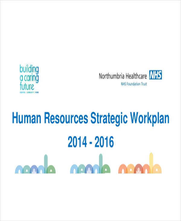human resources strategic workplan