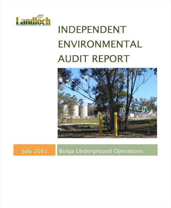 Independent Environmental Audit Report