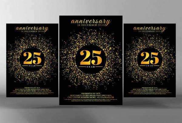 Invitation Template of 50th Wedding Anniversary