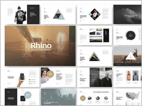 Keynote Presentation Template Bundle