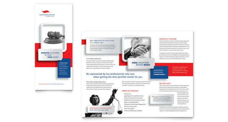 justice legal services brochure template design.html