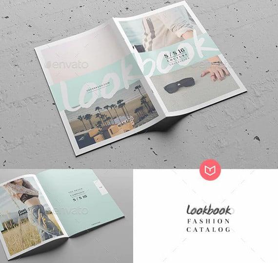 lookbook fashion magazine design
