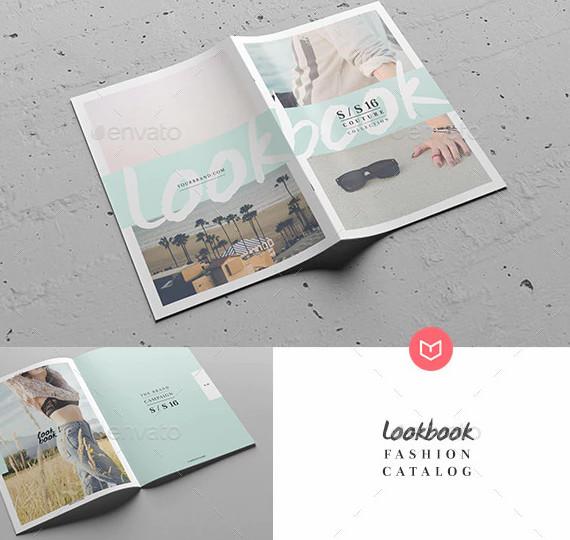 lookbook fashion magazine design1