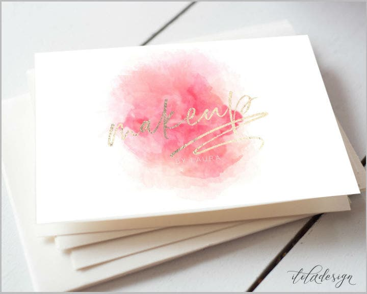 makeup-artist-watercolor-business-card-template