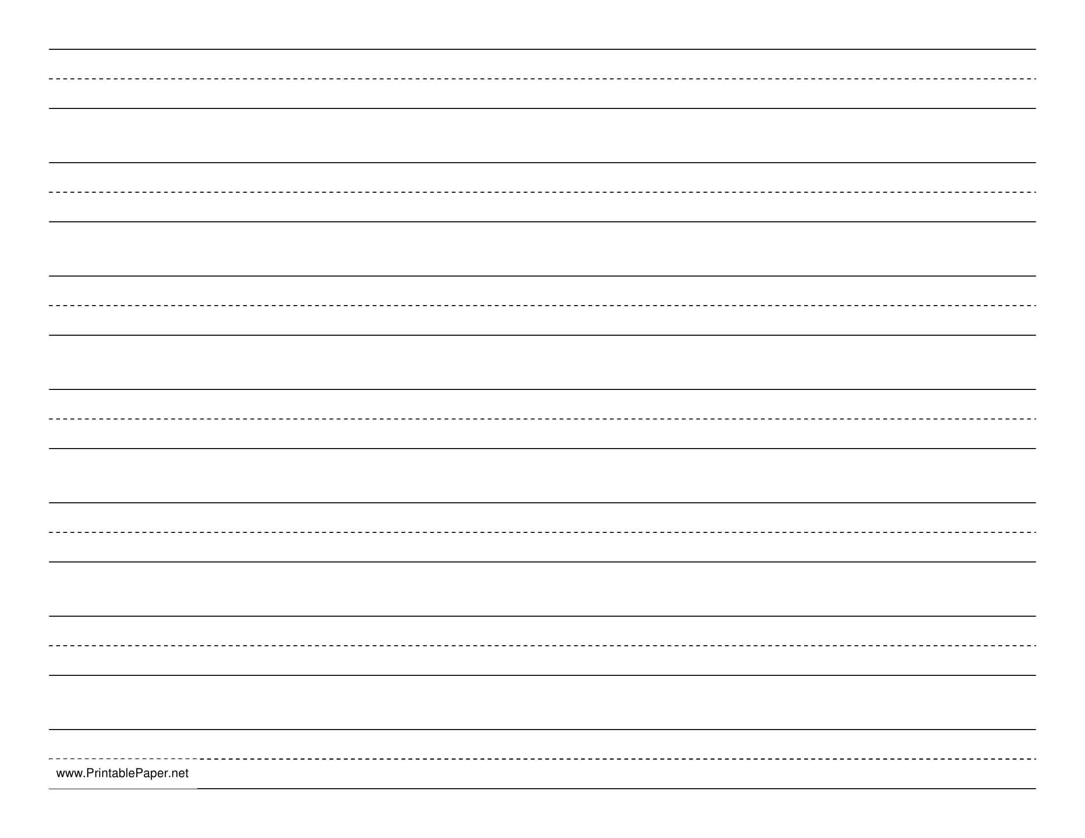 manuscript ruled paper template