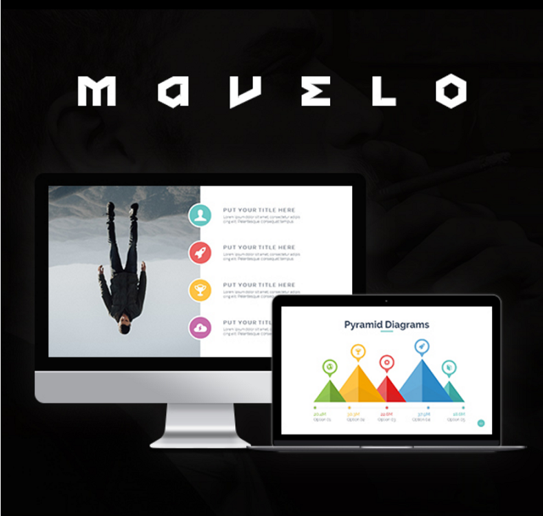 mavelo clean powerpoint template 788x748