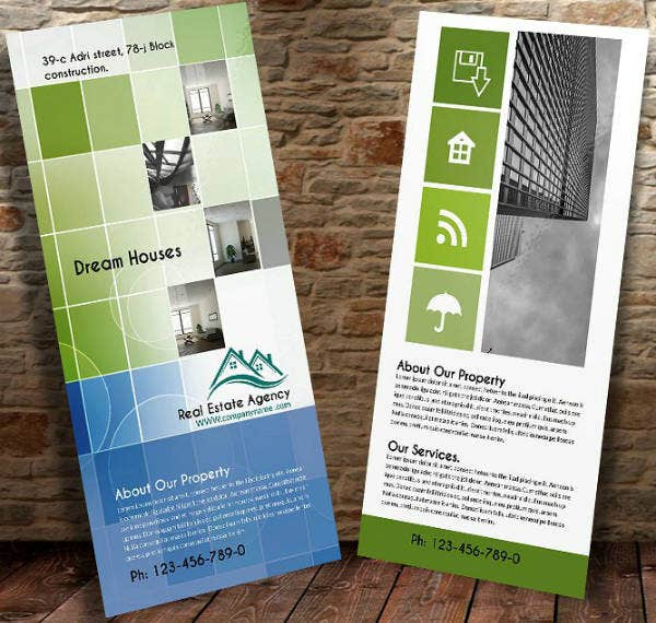 Metro Theme Real Estate Rack Card