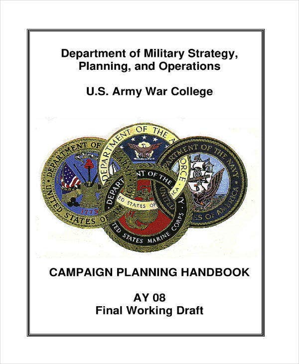 Military Strategy Planning & Operations