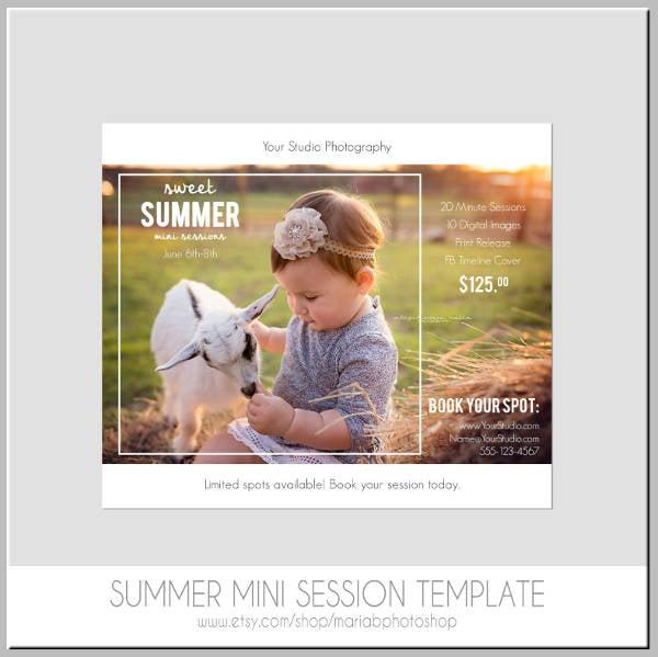 mini-session-summer-postcard-template