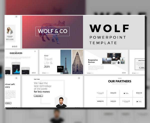 Minimal Cool PowerPoint Template