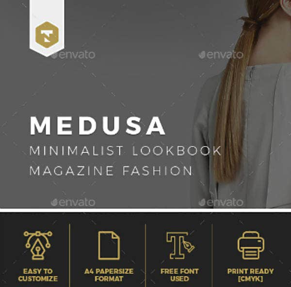 Minimal Fashion Lookbook Template