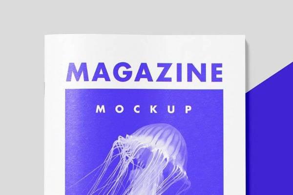 Minimal Magazine Mockup Template