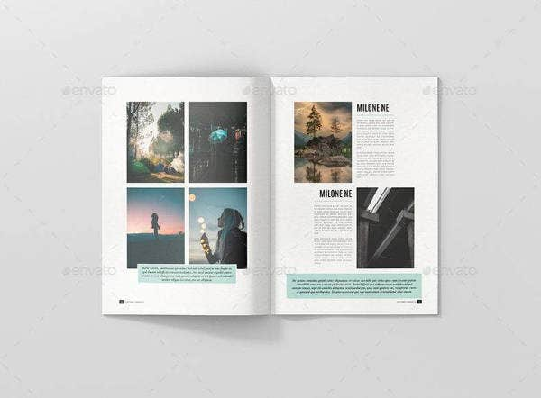 Minimal Multipurpose Magazine Template