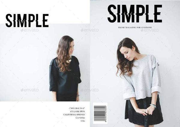 Minimal and Simple Magazine Template
