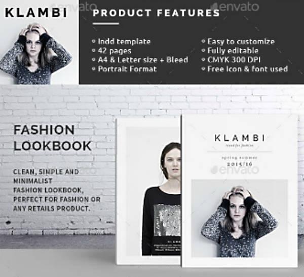 Minimalist Fashion Lookbook Template