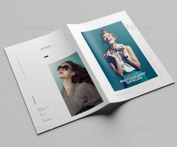 Minimalist Fashion Photography Brochure Design