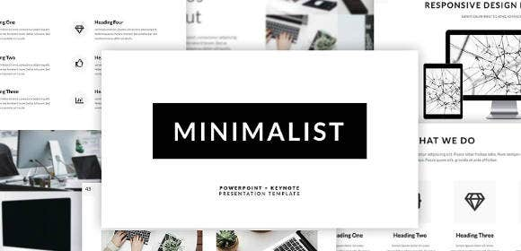 minimalist powerpoint design