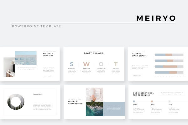 minimalist powerpoint