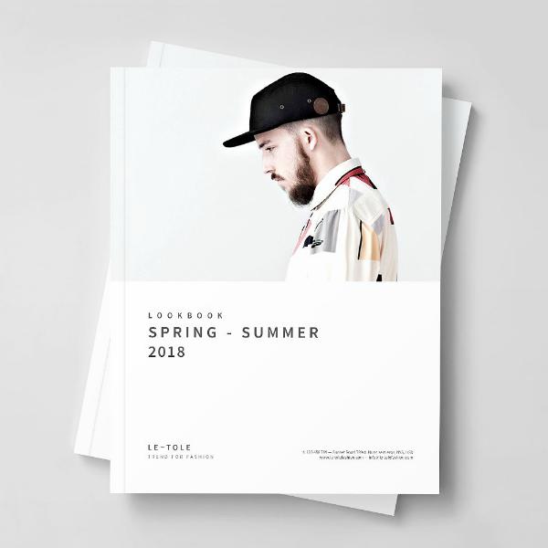 Minimalist Spring Fashion Lookbook Template