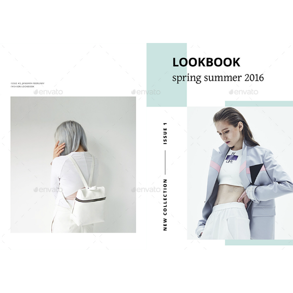 Minimalist Spring Summer Lookbook Template