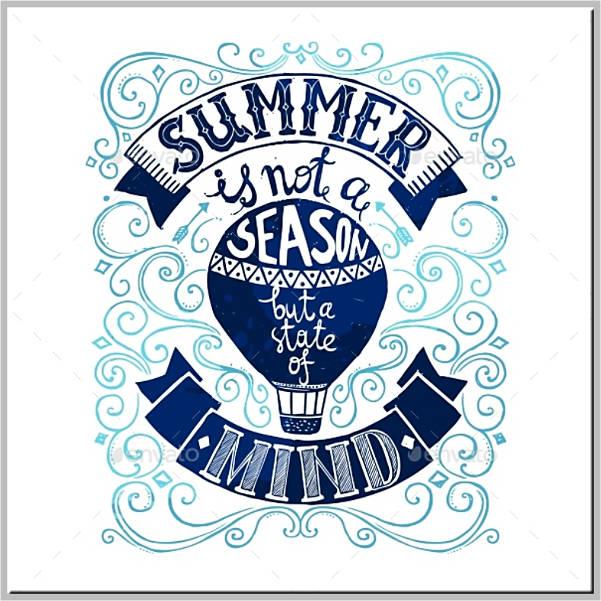 minimalist-style-summer-postcard-template