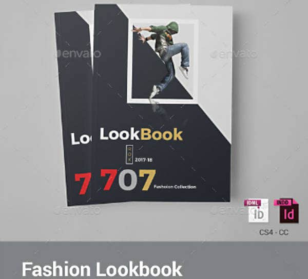 Modern Themed Fashion Lookbook Template
