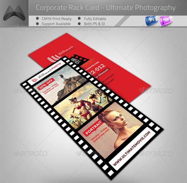Movie Photography Rack Card Flyer