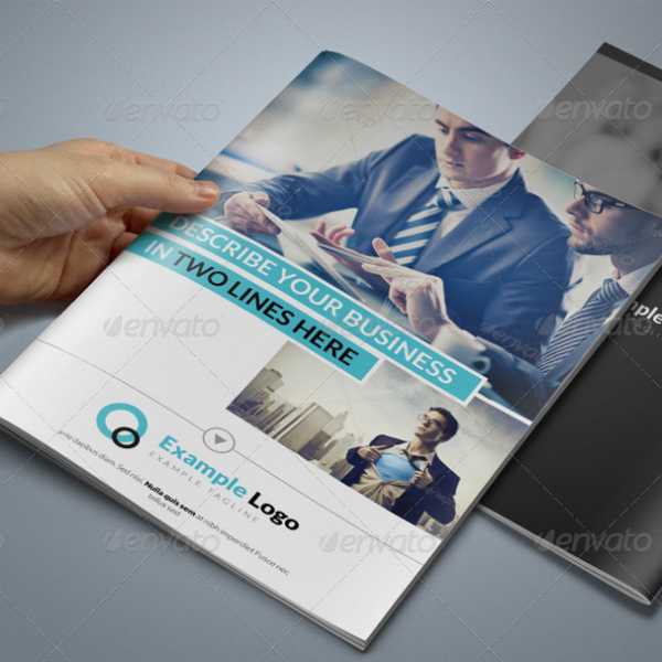 Multipurpose Business Catalog Brochure Template