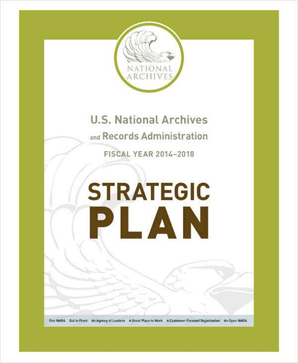 National Museum Strategic Plan Sample
