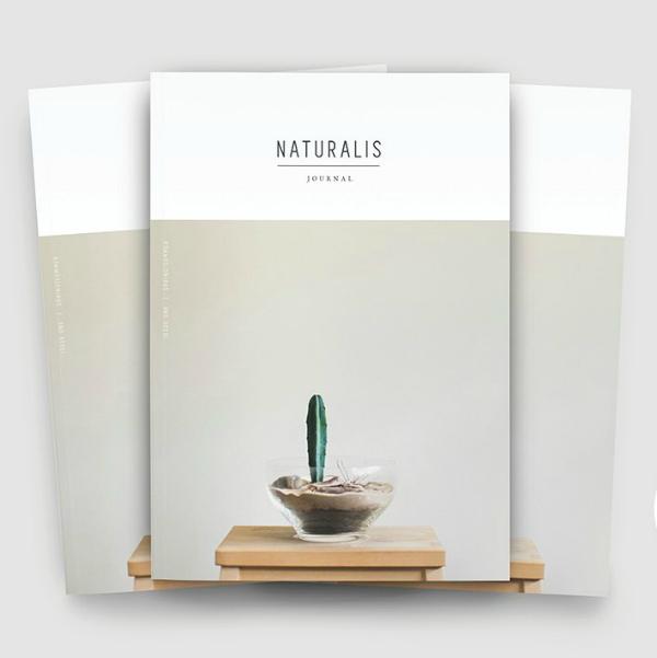 naturalis journal lookbook template
