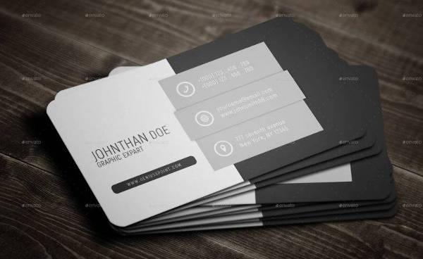 Neutral Clean Business Card Template