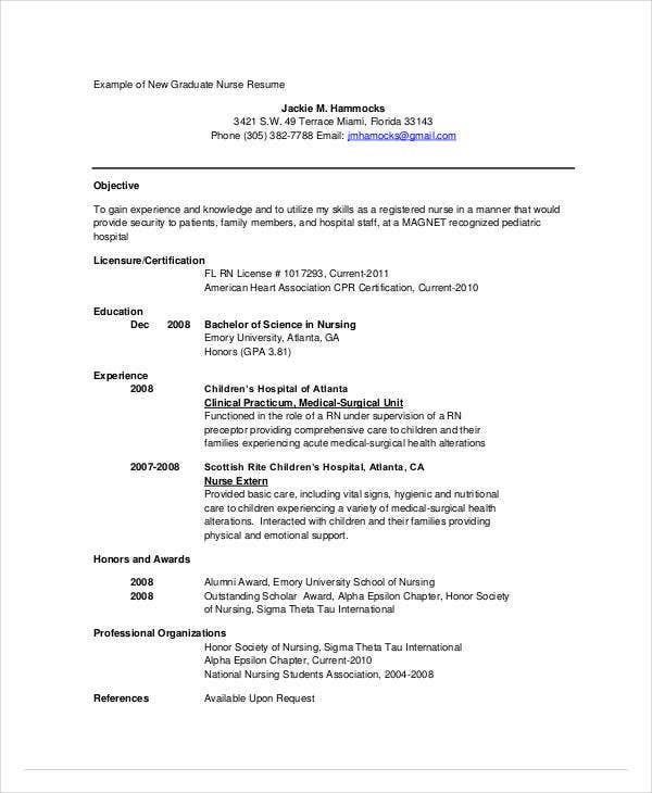 13  nursing cv sample  u0026 templates