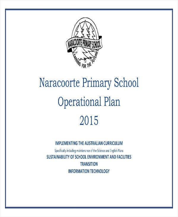 Operational Plan for School