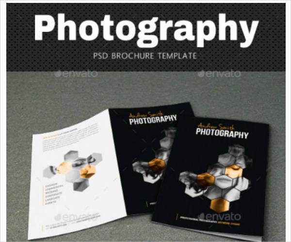 PSD Photography Brochure Template