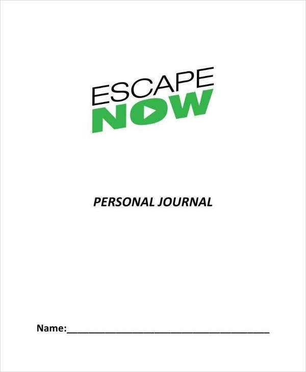 Personal Journal Template