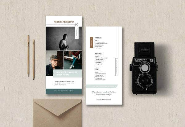 Photographer Rack Card Flyer