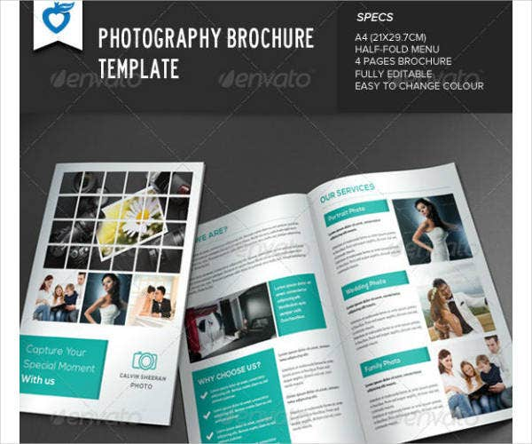 Photography Brochure Sample