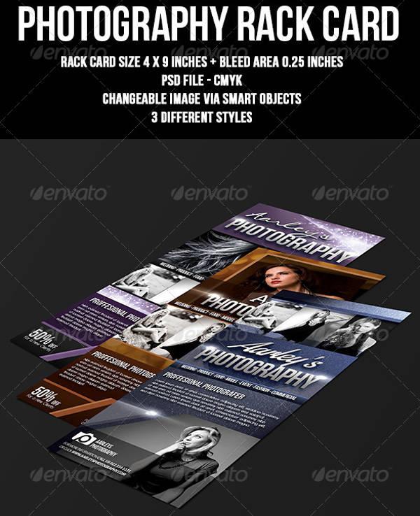 Photography Rack Card Design