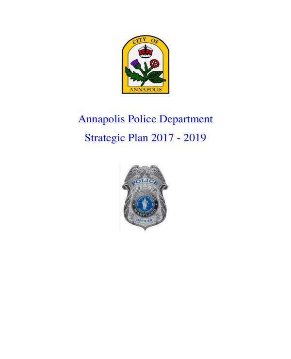 police department strategic plan 1