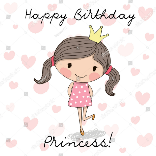 16 Girls Birthday Card Designs Templates Psd Ai Free