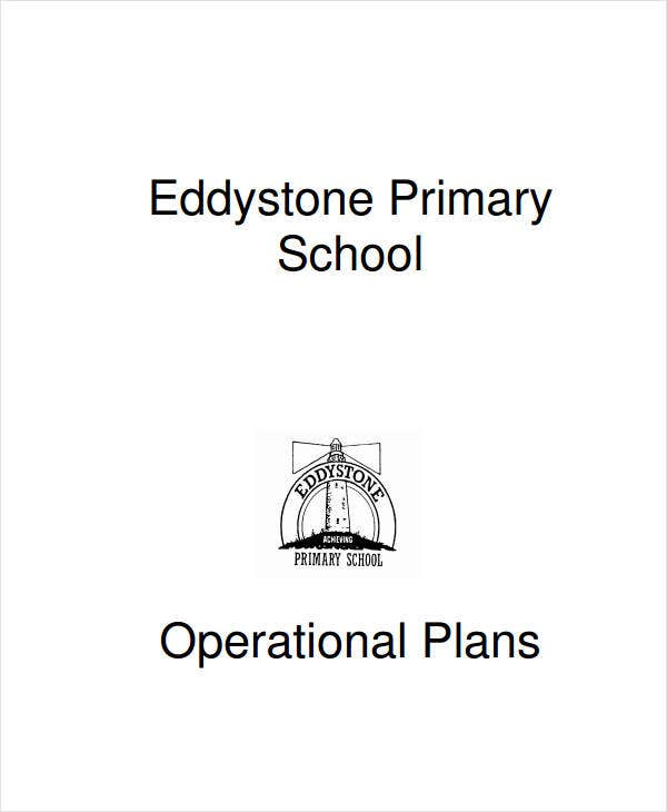primary school operational plan